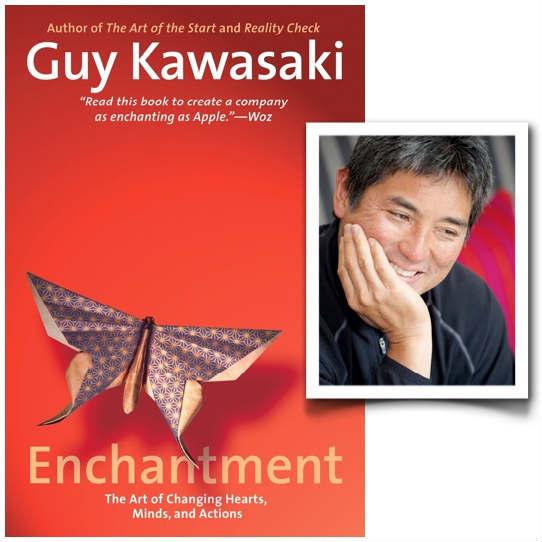 Guy Kawasaki and his book, Enchantment