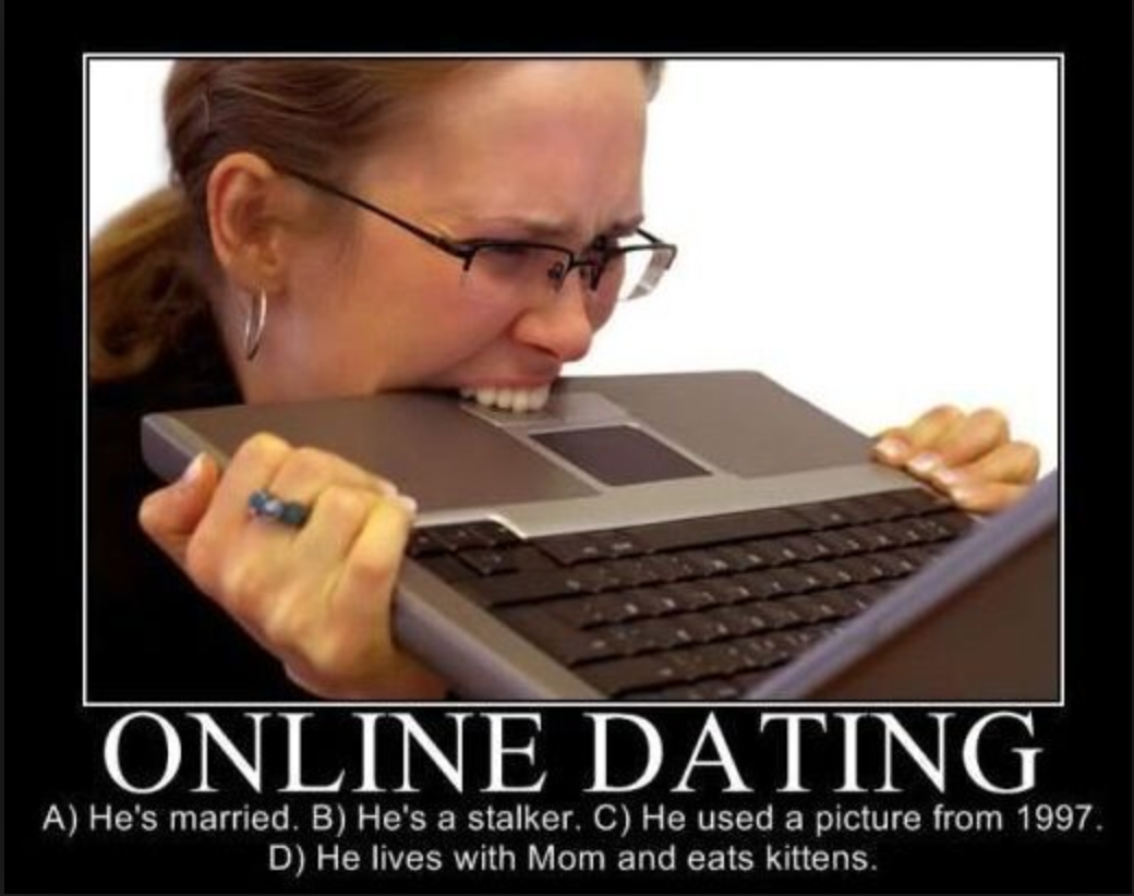 What is online dating like for a woman