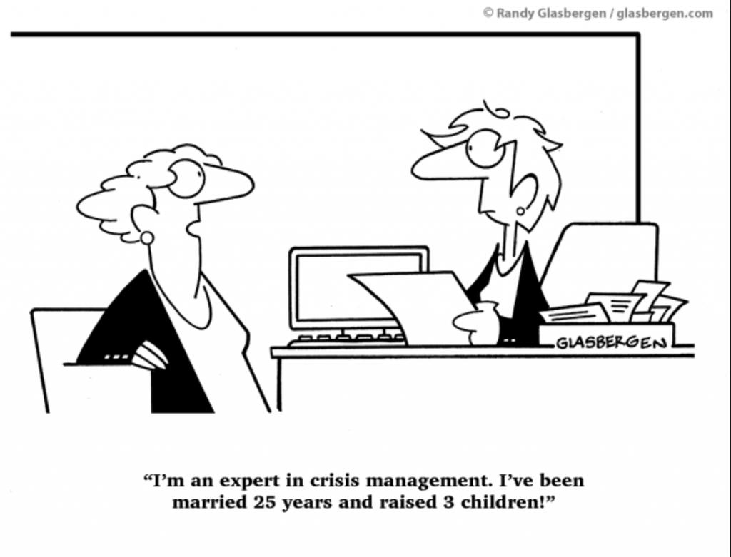 Career change comic