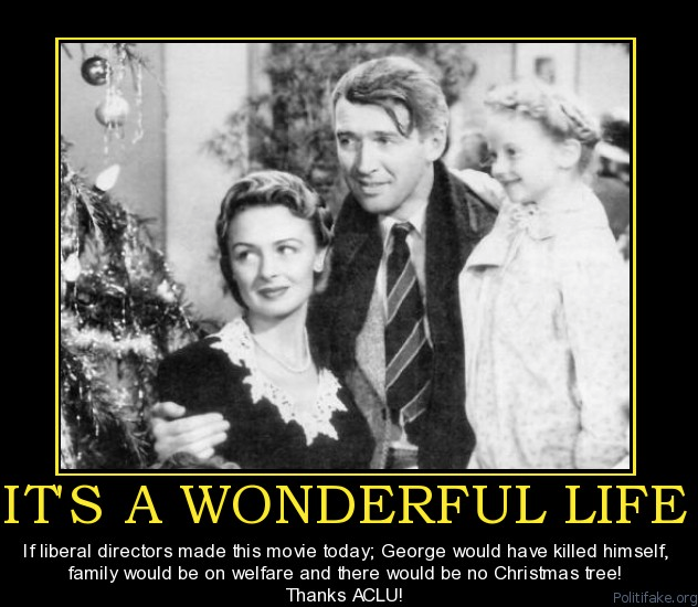 It's a Wonderful Life - if made by liberals today