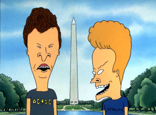 MTV and Beavis and Butthead