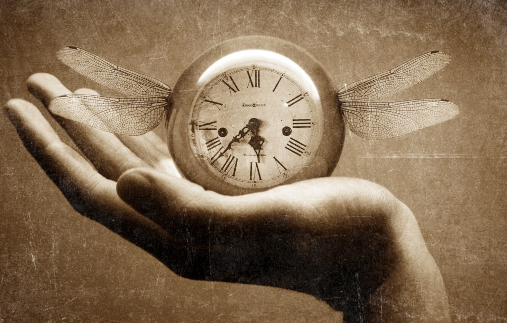 Time flying photo