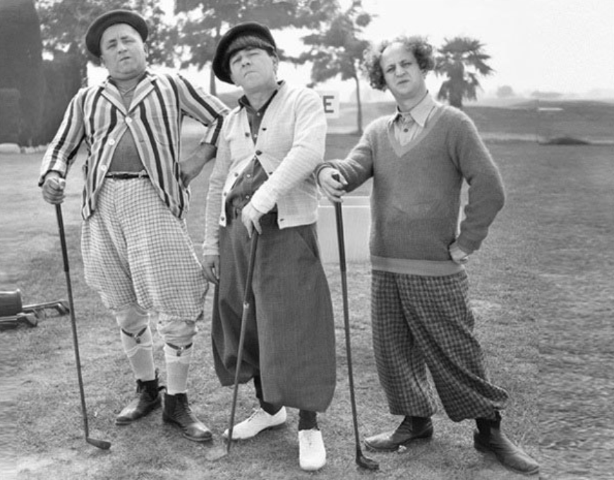 The Three Stooges Golf